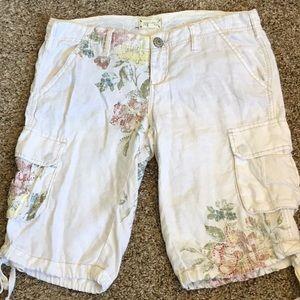 Miss Me Bermuda shorts white M